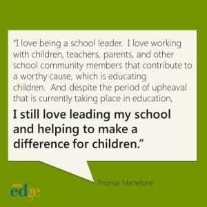 Love school leadership